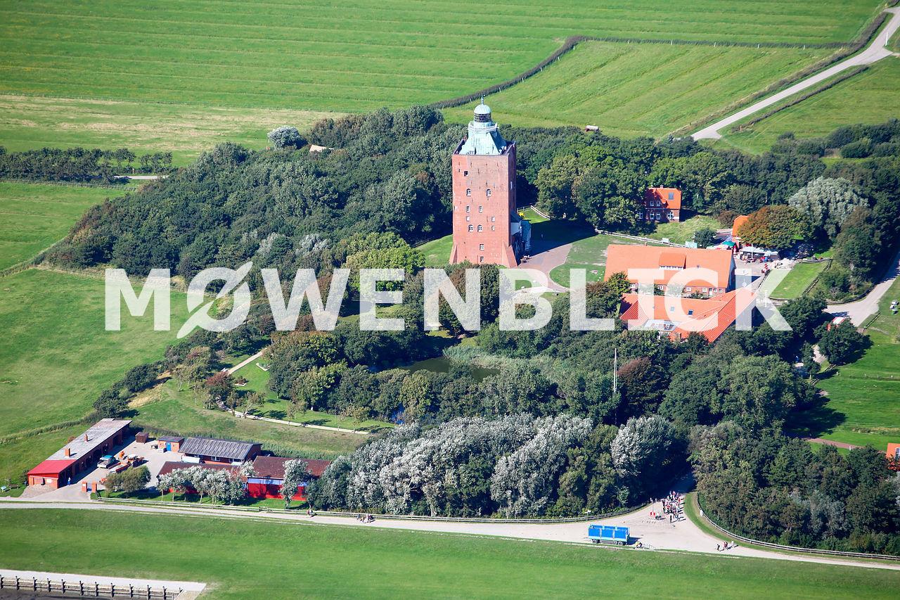 Leuchtturm Luftbild