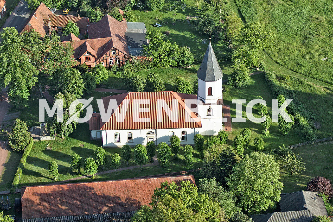 Kirche Luftbild