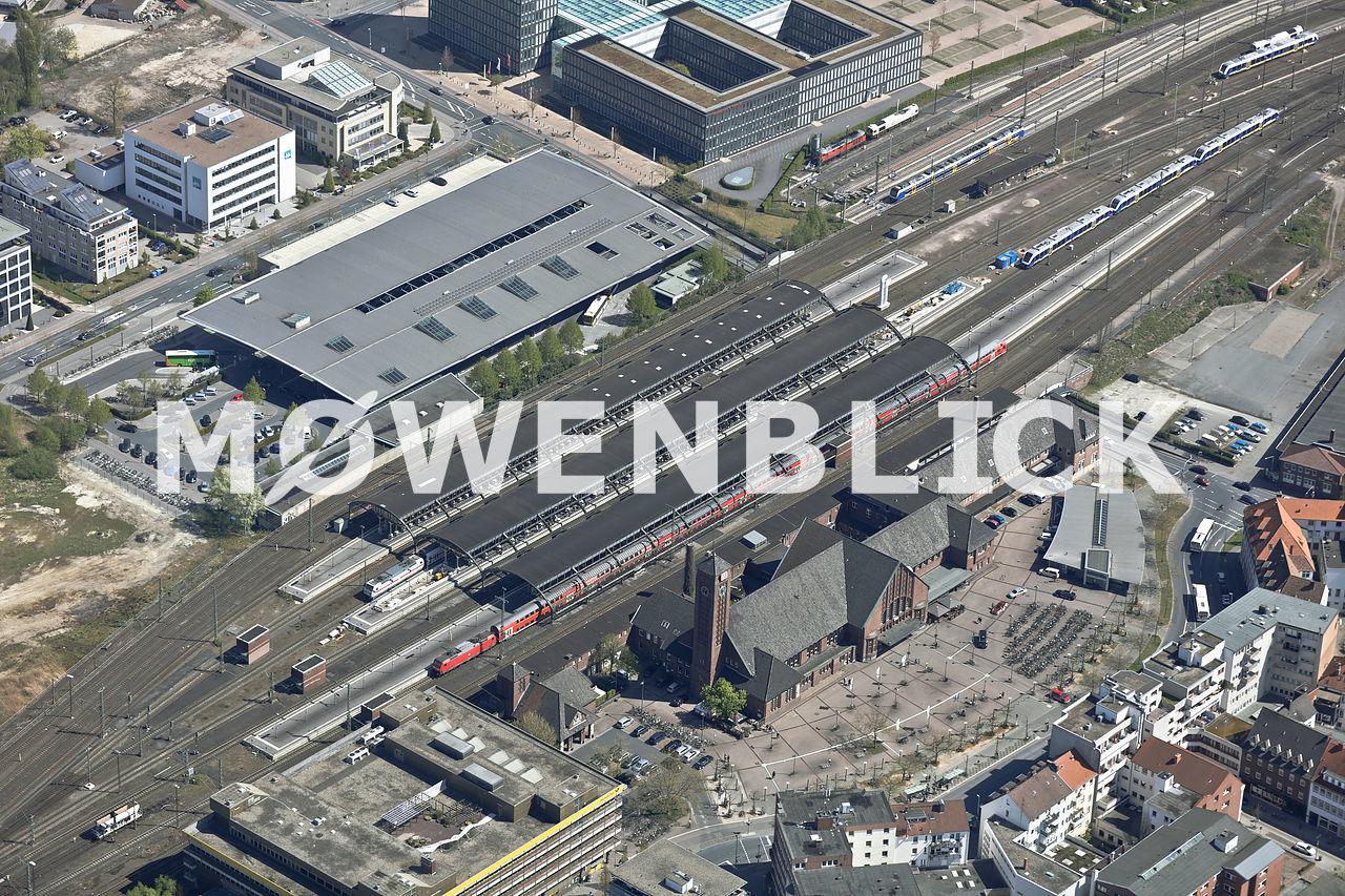 Hauptbahnhof Luftbild