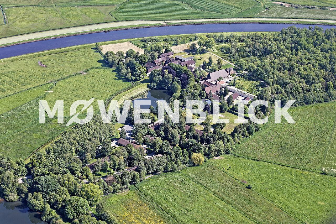Kloster Blankenburg Luftbild