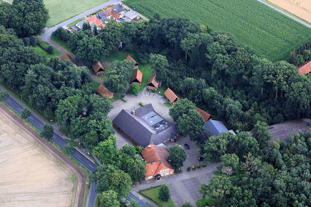 Luftaufnahme Koems Harpstedt
