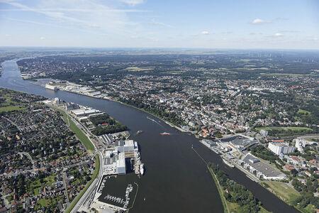 Fährstelle Weser