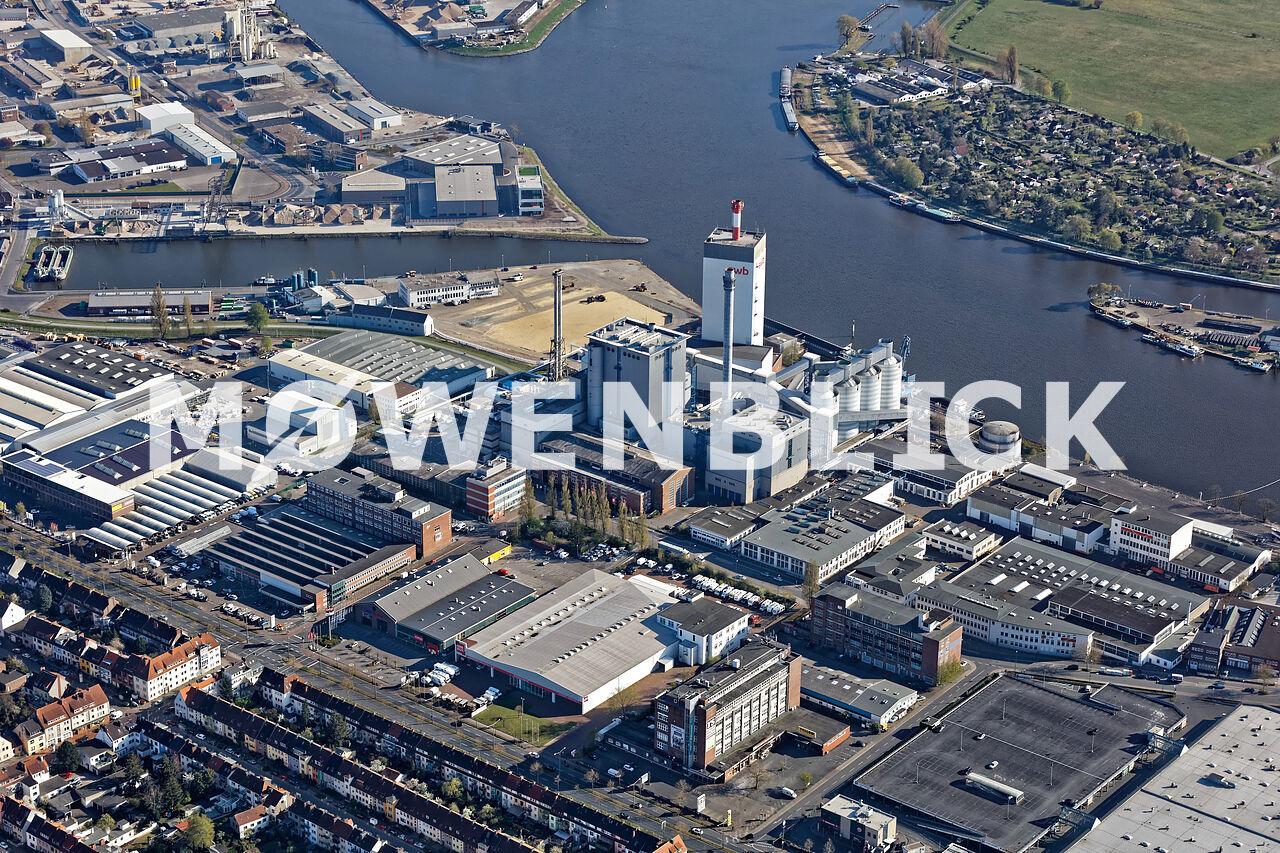 Kraftwerk Hastedt Luftbild