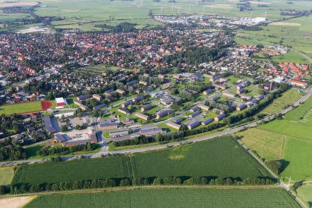 Luftaufnahme Richthofen Kaserne