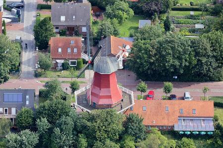Luftaufnahme Schoofs Mühlencafe