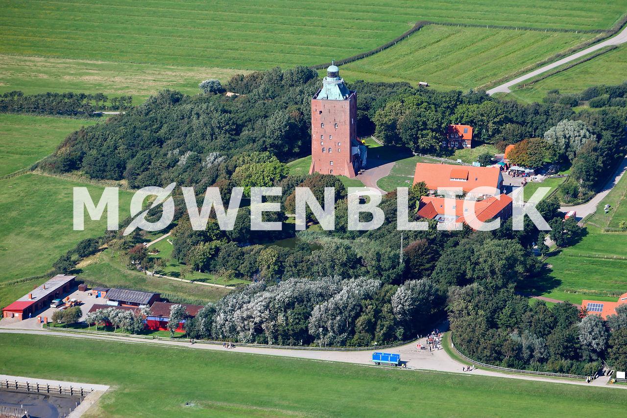 Der Leuchtturm Luftbild