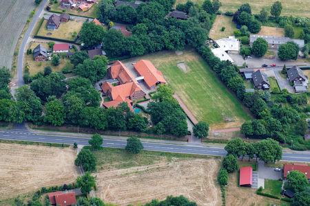Luftaufnahme Grundschule