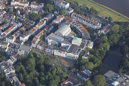 Luftaufnahme Theater am Goetheplatz