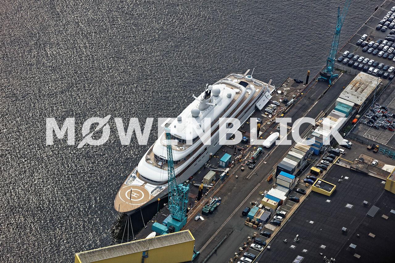 Yacht Luftbild
