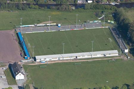 Luftaufnahme BSV Kickers Emden Ostfriesland-Stadion