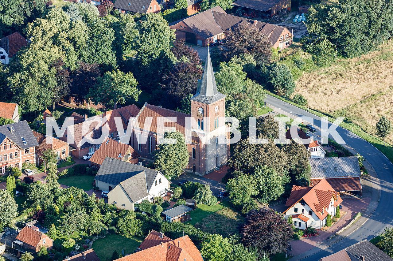 Marien-Kirche Luftbild
