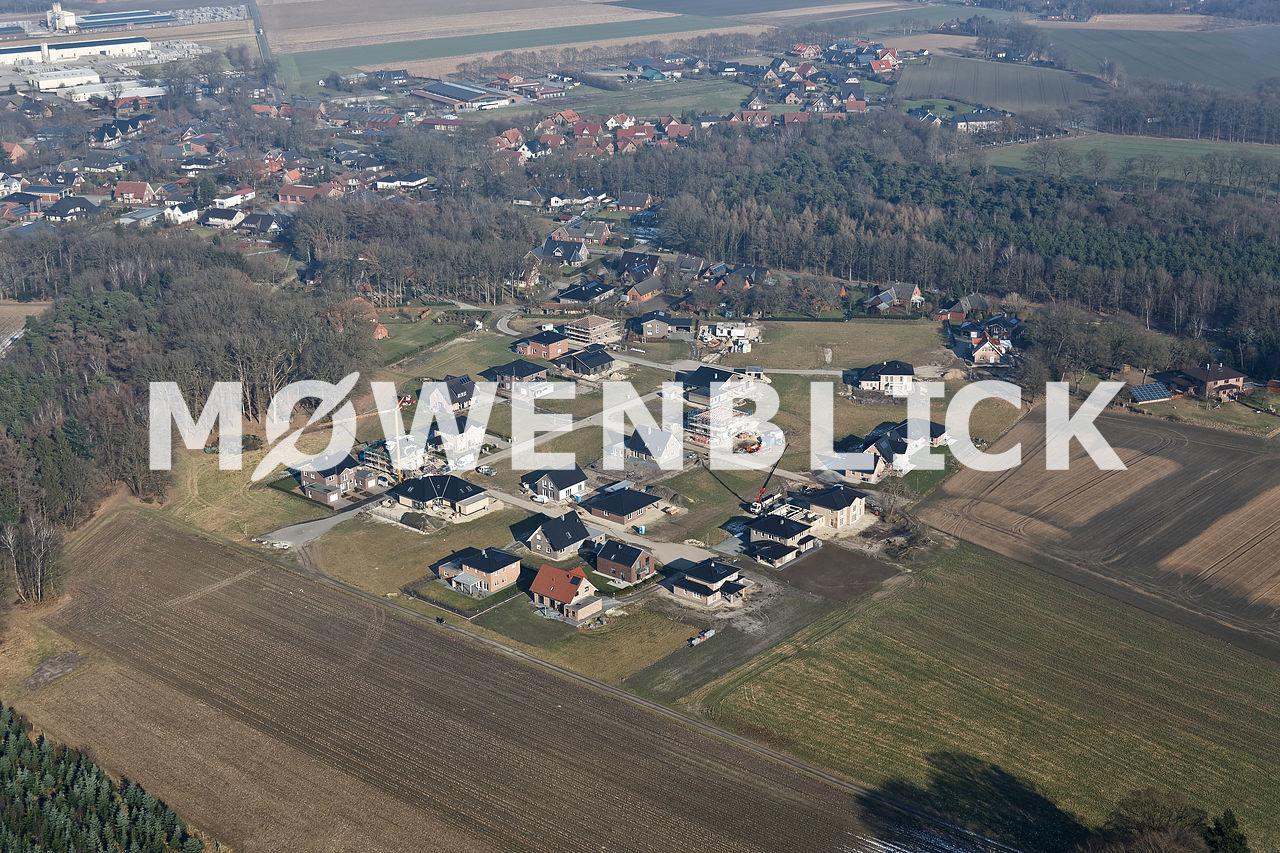Neubaugebiet Luftbild