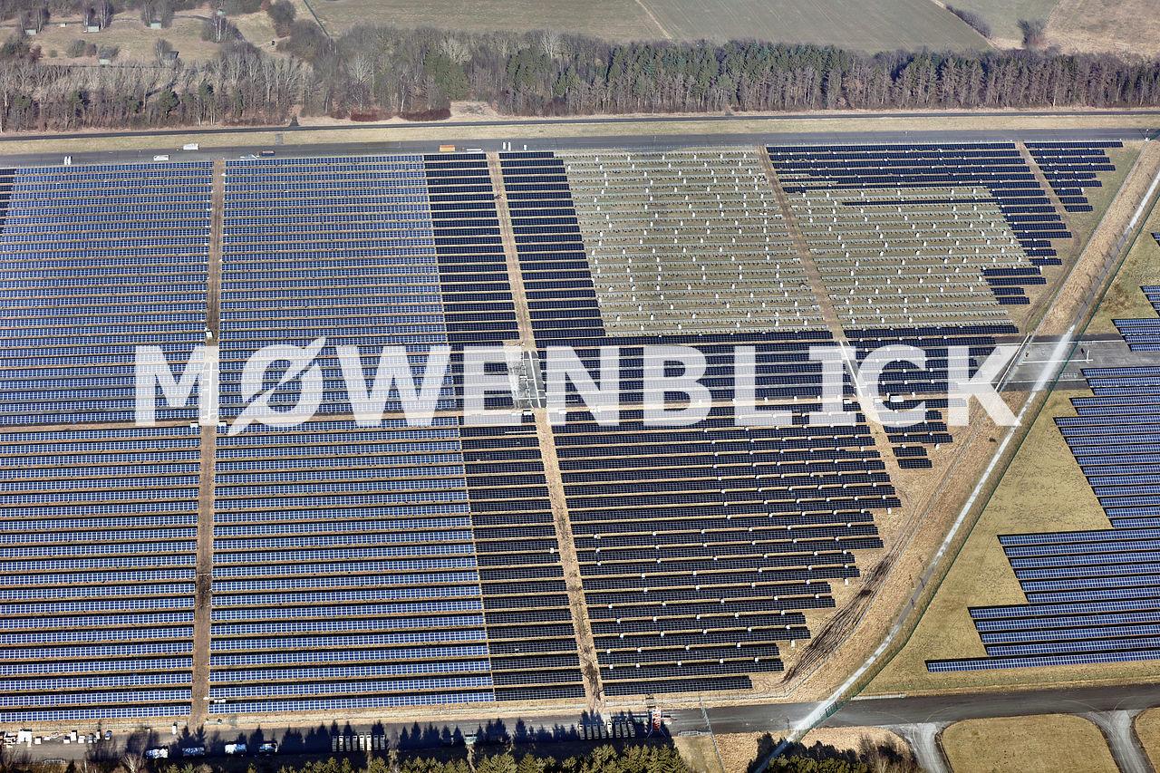 Solarpark Wiefelstede Erneuerung Luftbild