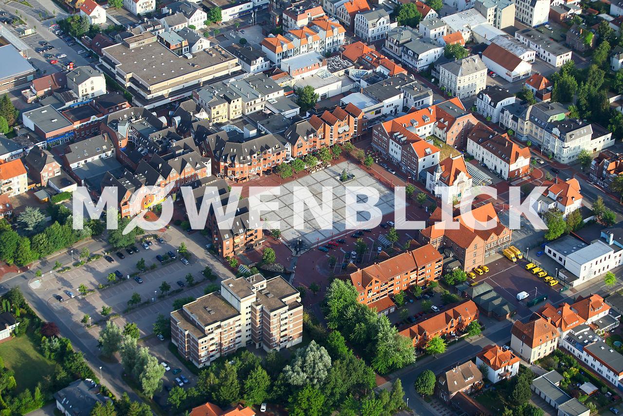 Marktplatz Marktstraße Luftbild