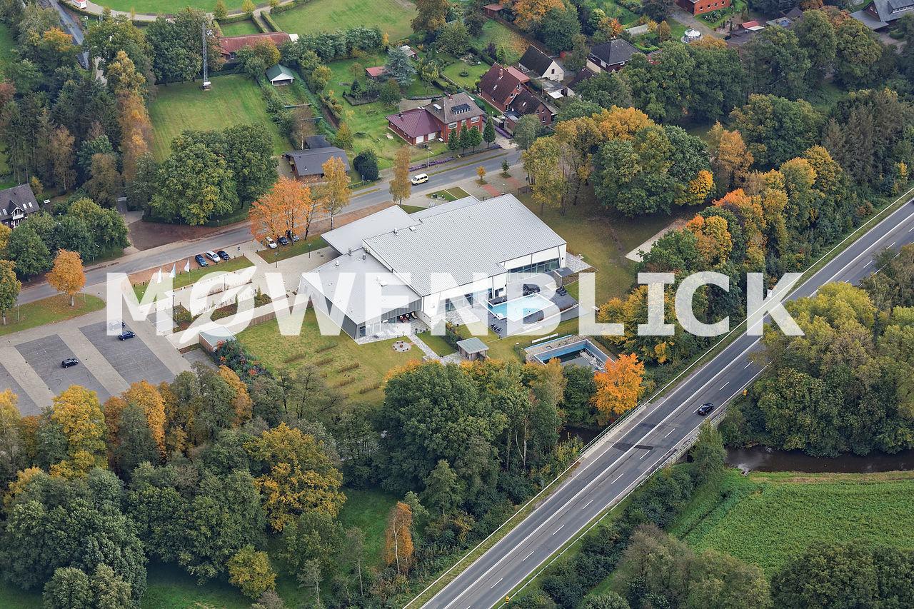 Hallenbad aquaferrum Luftbild