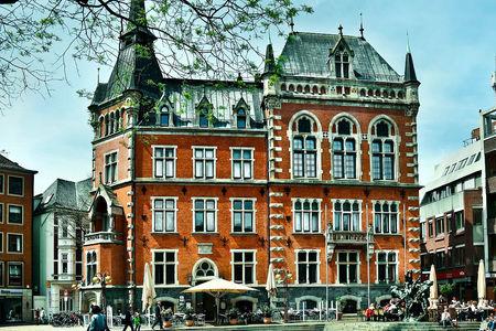 Luftaufnahme Rathaus