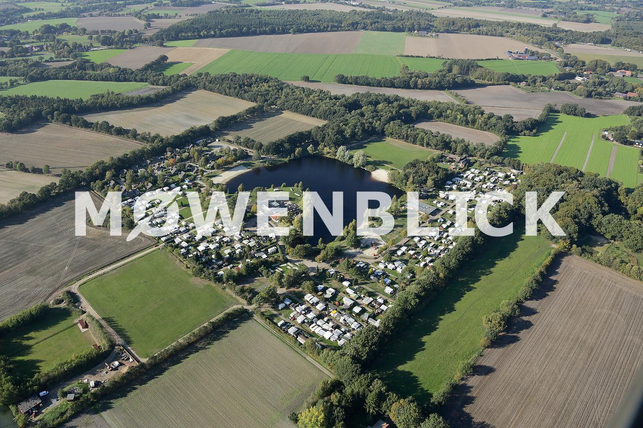 Am Falkensteinsee Luftbild