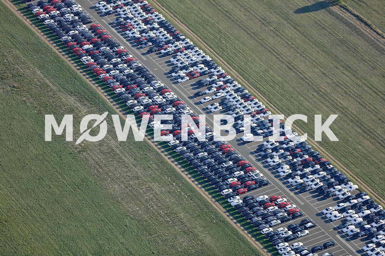 Landebahn Luftbild