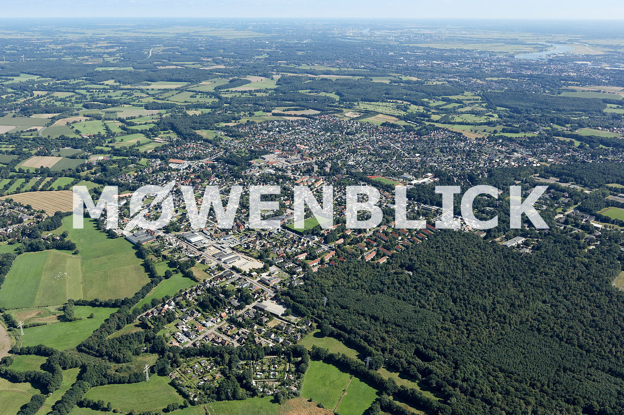 Luftbild Schwanewede Luftbild