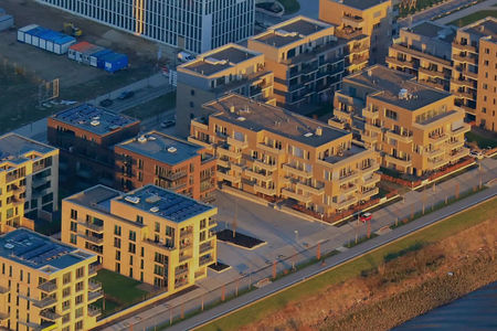 Neubauten Überseestadt