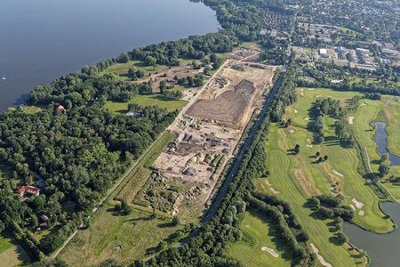 Luftaufnahme Abriss Bad Zwischenahn Krankenhaus