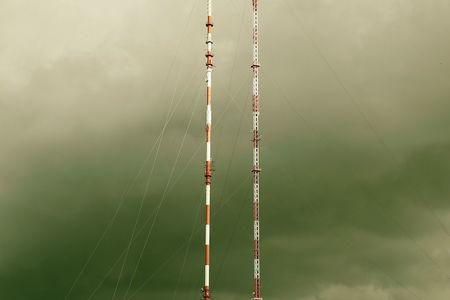 Luftaufnahme Sendemast