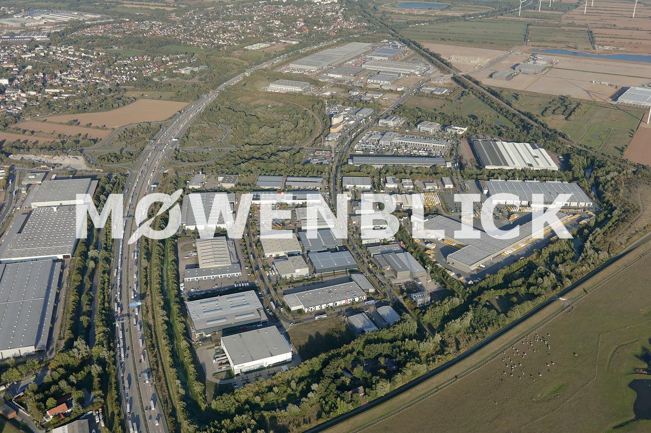 Gewerbegebiet Hemelingen Luftbild