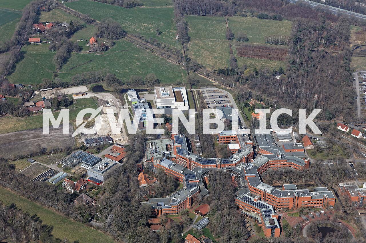 Neubauten Unniversität Luftbild