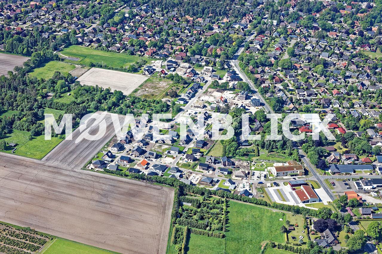 Neubaugebiet Löwenzahnweg Luftbild