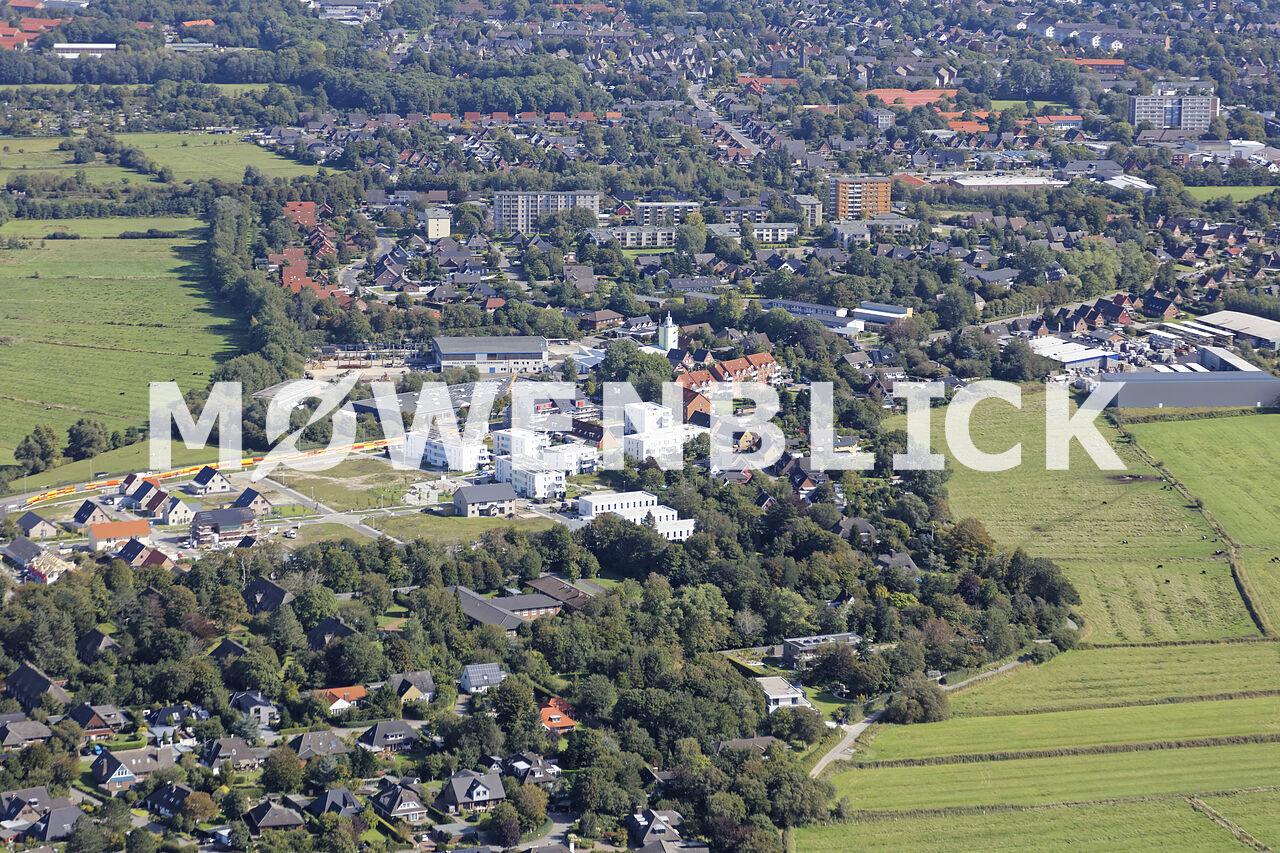 Baugebiet Memeler Straße Luftbild