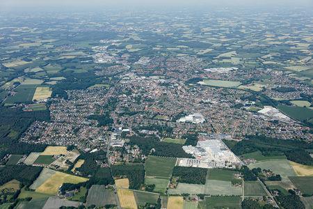 Luftaufnahme Der Ort
