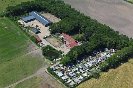 Luftaufnahme Campingplatz