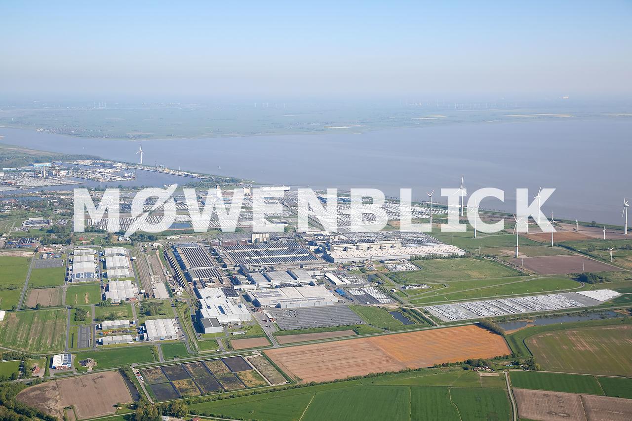 VW-Werk Luftbild
