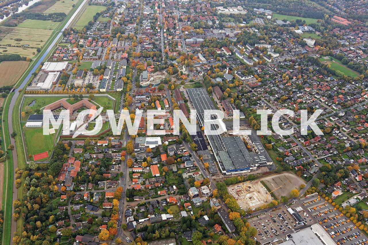 Sanierungsgebiet Kreyenbrück Luftbild