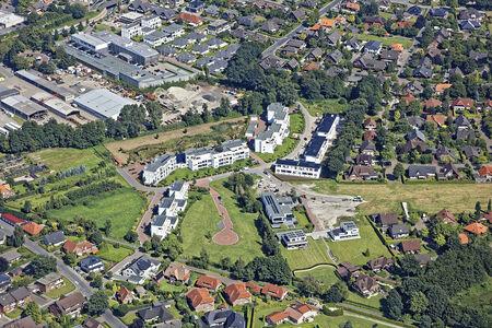 Luftaufnahme Speckener Moorkanal