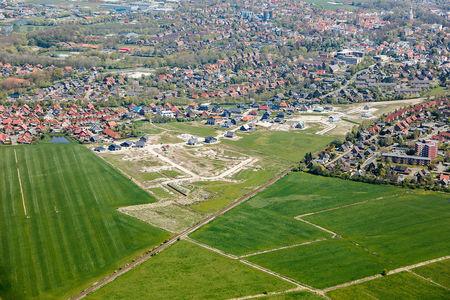 Luftaufnahme Neubaugebiet