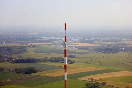 Luftaufnahme Fernsehmast