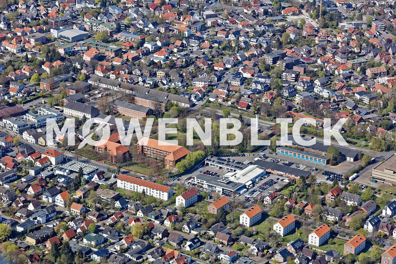 Verpflegungsamt der Bundeswehr Luftbild