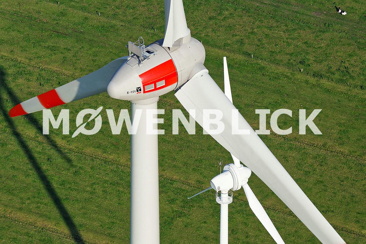 Repowering Enercon Luftbild