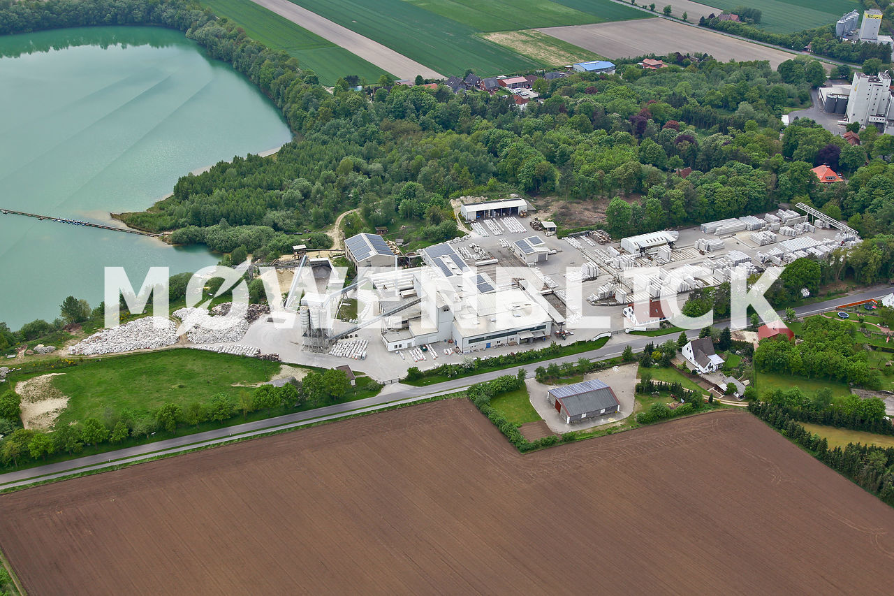 Höltinghauser Industriewerke Luftbild