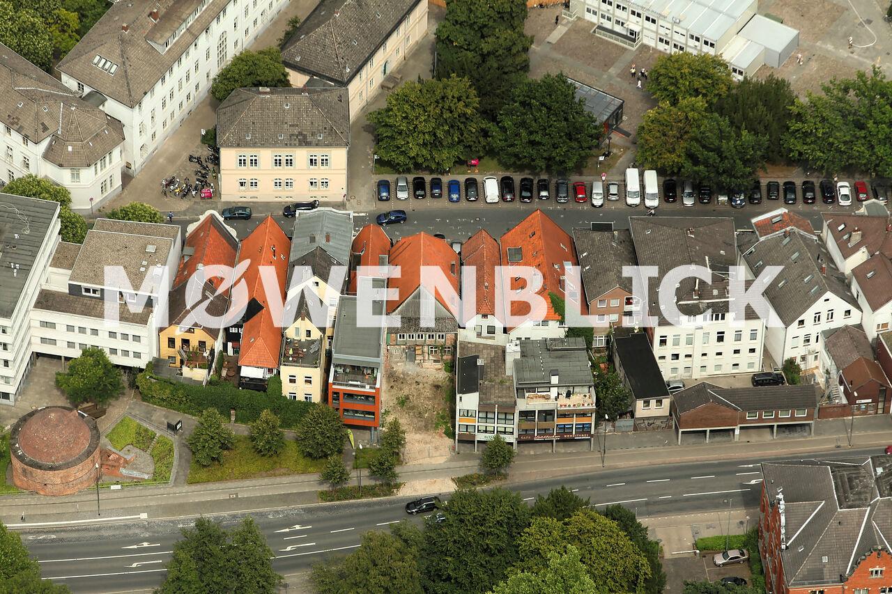 Schlaues Haus Luftbild