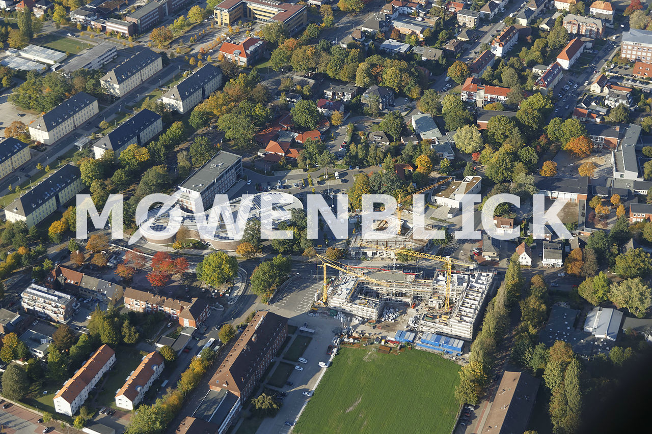 Klingenbergstraße Neubauten Luftbild
