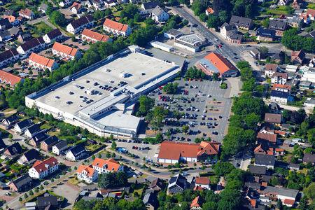 Luftaufnahme Deichhäuser Heide