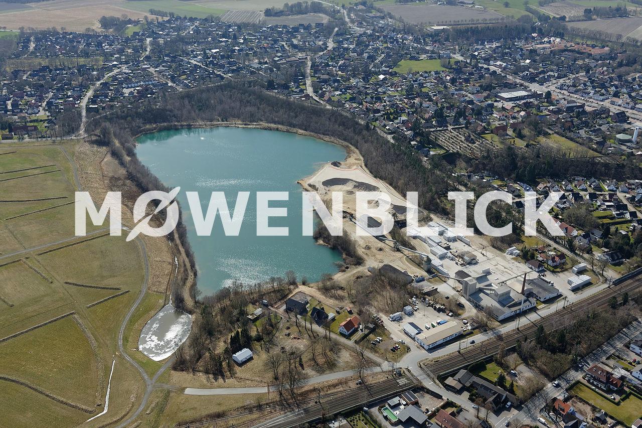 Kalksandsteinwerk Luftbild