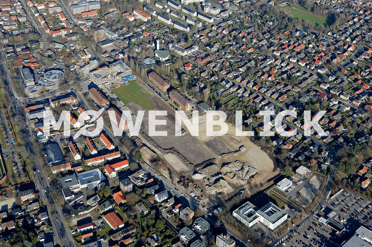 Neubauten ACC Gelände Luftbild