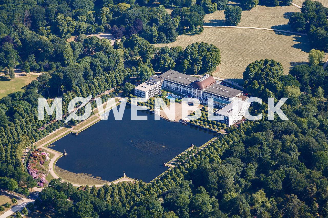 Parkhotel Hollersee Luftbild