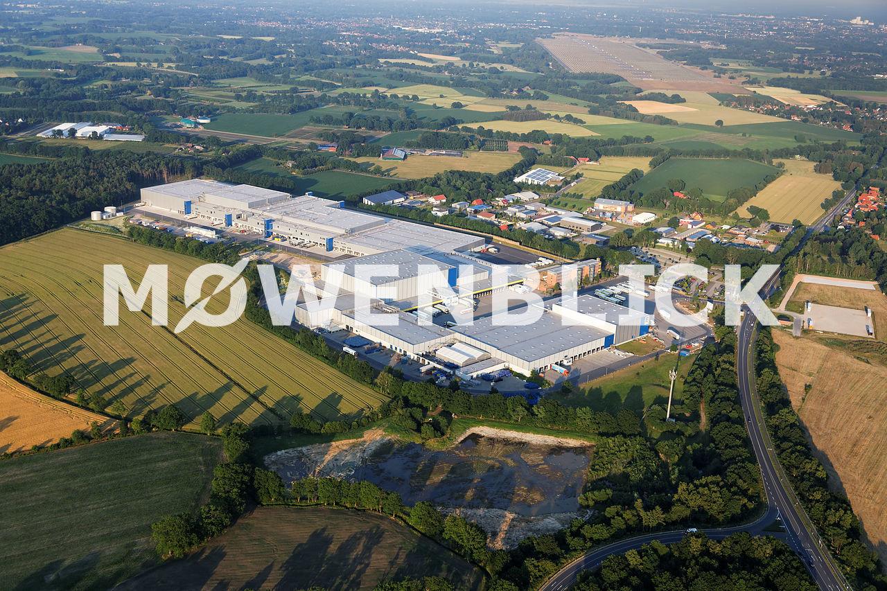 EDEKA Zentrallager Westerholtsfelde Luftbild