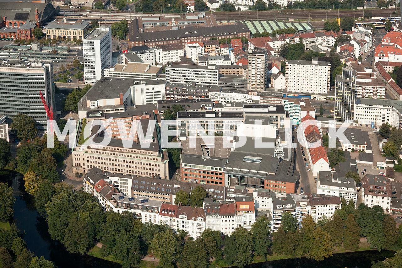 Parkhaus Röwekamp Luftbild