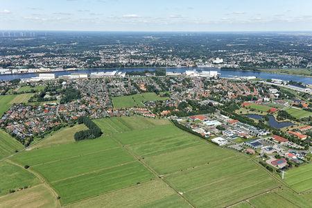 Luftaufnahme Weserblick