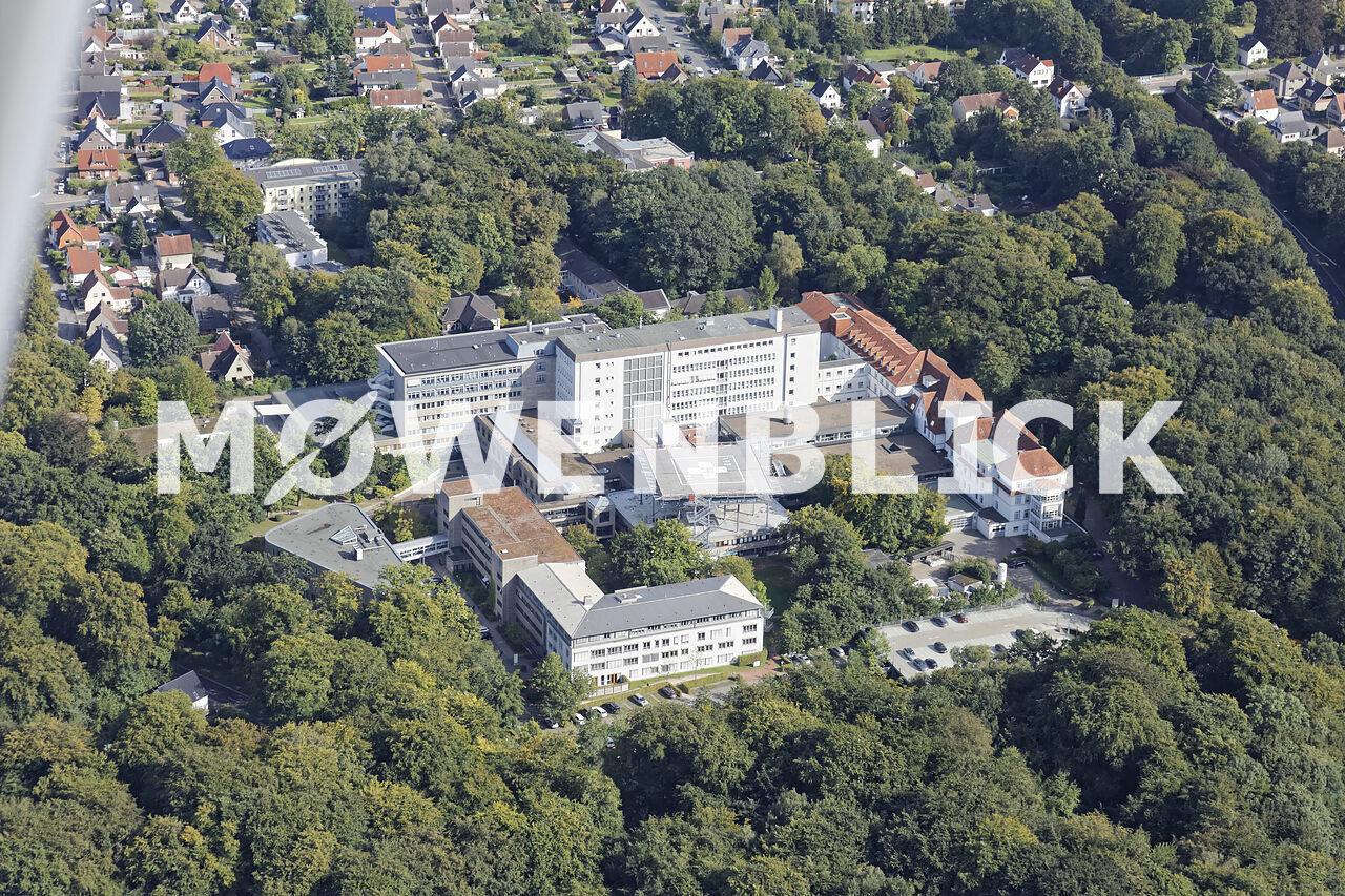 Klinikum Bremen Nord Luftbild